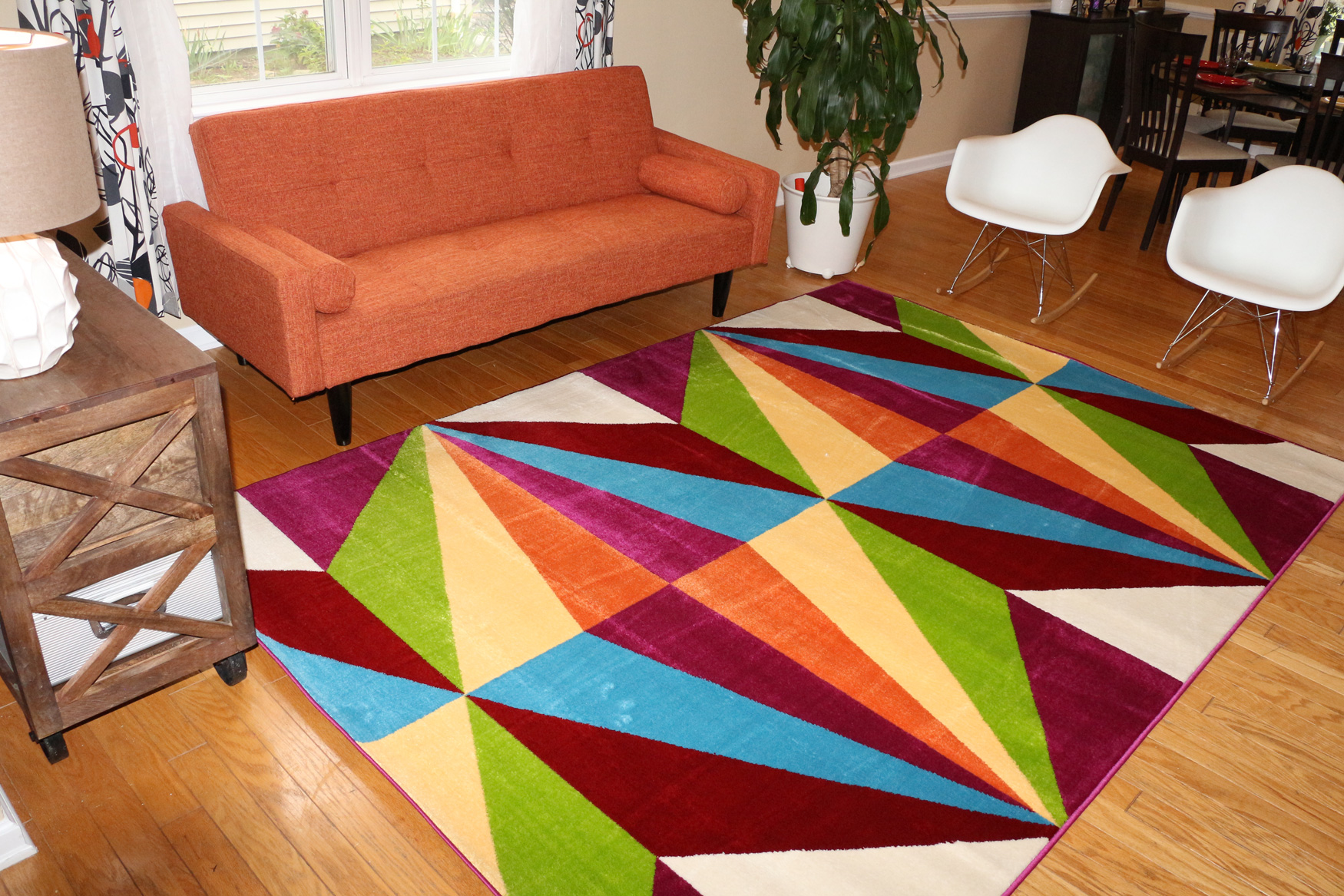 Inexpensive area rugs contemporary roselawnlutheran for Cheap contemporary area rugs